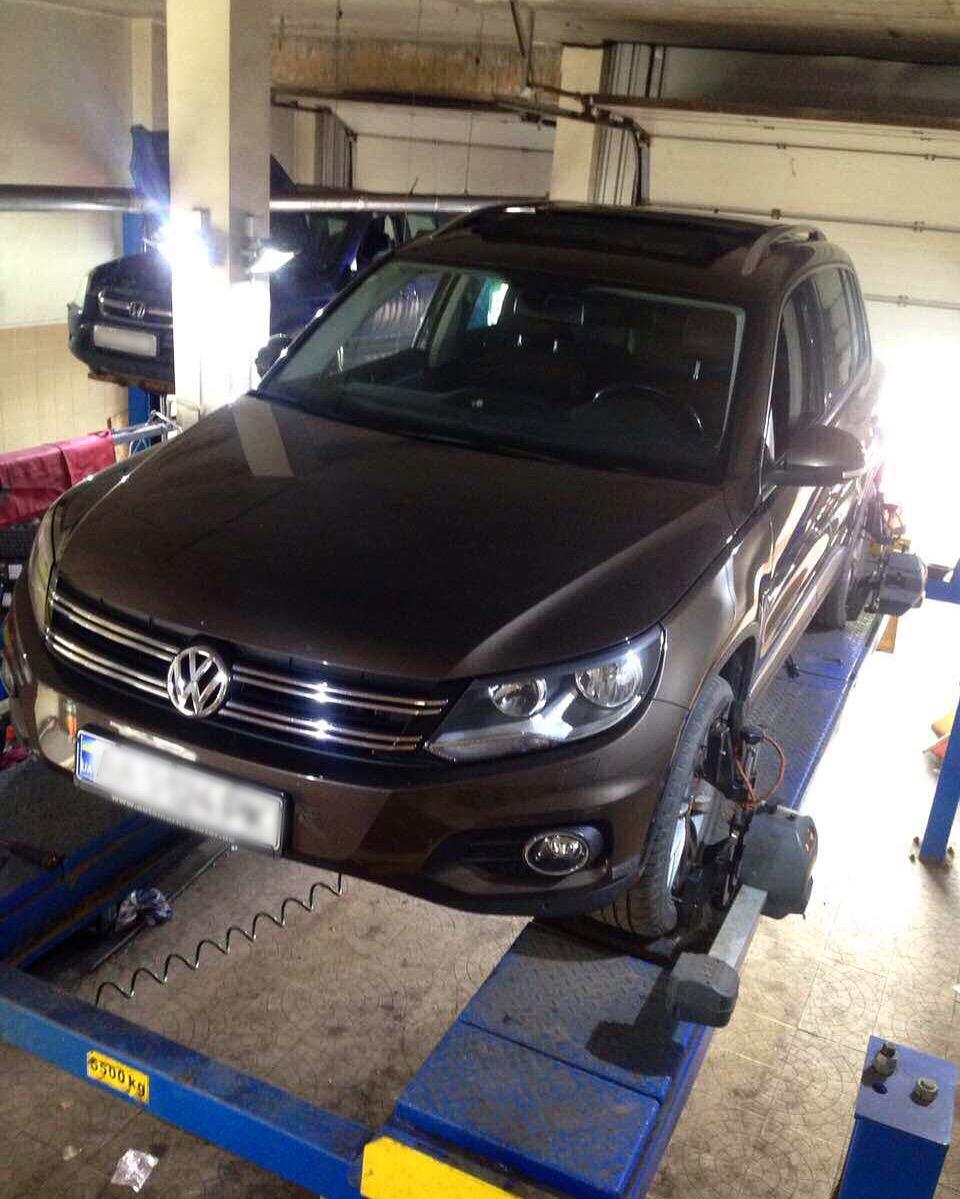 Обслуживание автомобиля Volkswagen в DZigora Complex