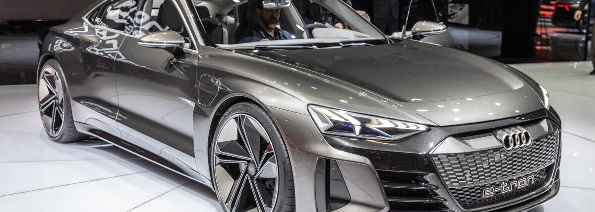 Audi завершает тестовые испытания модели E-Tron GT