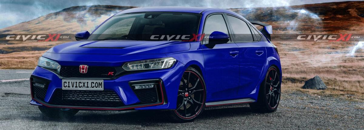 Honda Civic Type-R нового покоління шокує своїм зовнішнім виглядом